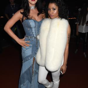 Katy Perry and Nicki Minaj at event of 2014 MTV Video Music Awards (2014)