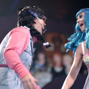 Still of Katy Perry and Angela Hudson in Katy Perry: Part of Me (2012)