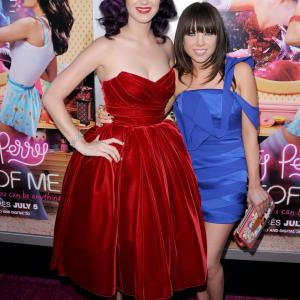 Katy Perry and Carly Rae Jepsen at event of Katy Perry: Part of Me (2012)