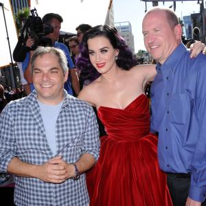Katy Perry, Rob Moore and Adam Goodman at event of Katy Perry: Part of Me (2012)