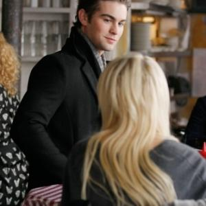 Still of Taylor Momsen and Chace Crawford in Liezuvautoja 2007