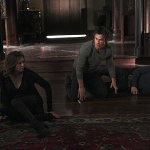 Still of Ian Somerhalder, Steven R. McQueen and Nina Dobrev in Vampyro dienorasciai (2009)