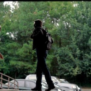 Still of Ian Somerhalder and Nina Dobrev in Vampyro dienorasciai (2009)