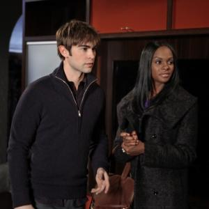 Still of Tika Sumpter and Chace Crawford in Liezuvautoja 2007