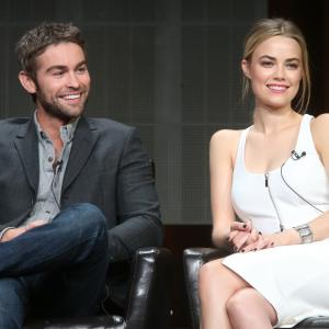 Chace Crawford and Rebecca Rittenhouse at event of Blood & Oil (2015)