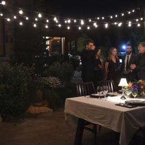 Still of Don Johnson, Scott Michael Foster, Chace Crawford, India de Beaufort and Rebecca Rittenhouse in Blood & Oil (2015)