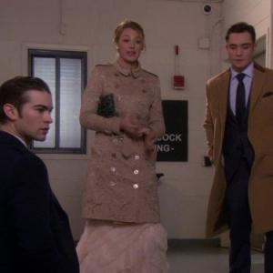 Still of Blake Lively, Chace Crawford and Ed Westwick in Liezuvautoja (2007)