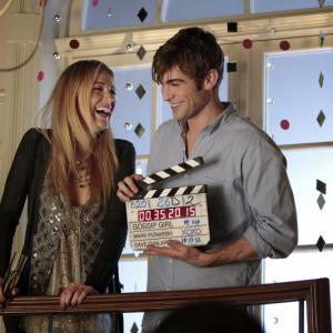 Still of Blake Lively and Chace Crawford in Liezuvautoja: New York, I Love You XOXO (2012)