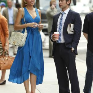 Still of Blake Lively and Chace Crawford in Liezuvautoja (2007)
