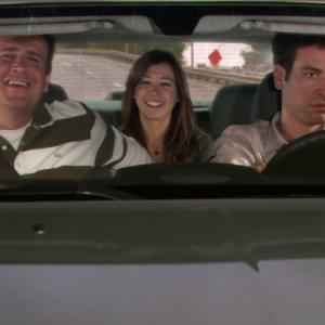 Still of Alyson Hannigan, Jason Segel and Josh Radnor in Kaip as susipazinau su jusu mama (2005)