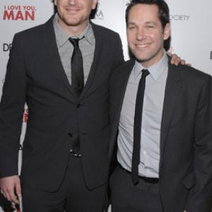 Paul Rudd and Jason Segel at event of I Love You Man 2009