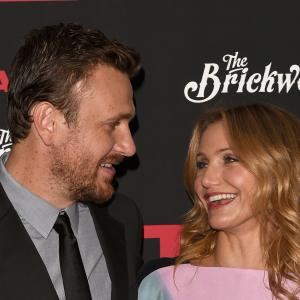 Cameron Diaz and Jason Segel at event of Sex Tape (2014)
