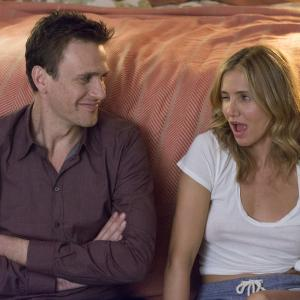 Still of Cameron Diaz and Jason Segel in Sex Tape (2014)