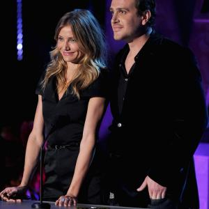 Cameron Diaz and Jason Segel at event of 2011 MTV Movie Awards 2011