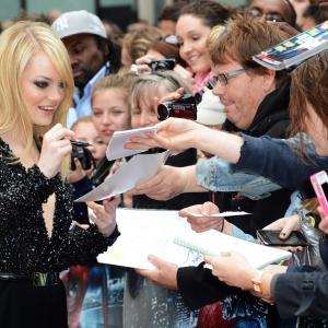 Emma Stone at event of Nepaprastas ZmogusVoras 2012