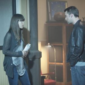 Still of Jesse Spencer and Olivia Wilde in Hausas 2004