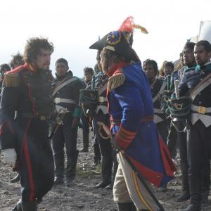 Still of Javier Olivera and Martn Rodriguez in Revolucin El Cruce de los Andes