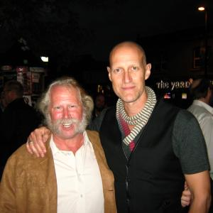 Terry A Brown and Christopher Heyerdahl at the Hell on Wheels Season 2 Premiere Gala
