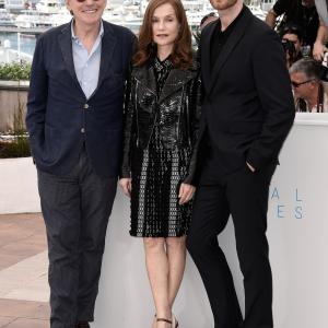 Gabriel Byrne Isabelle Huppert and Joachim Trier at event of Louder Than Bombs 2015