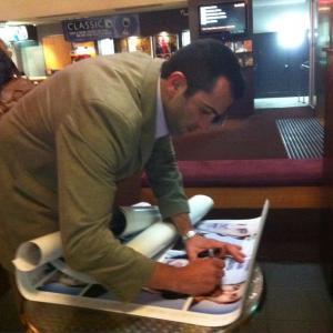ROBERT RABIAH  Face To Face Poster Signing  Screening