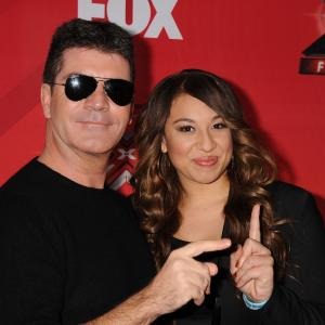 Simon Cowell and Melanie Amaro at event of The X Factor (2011)