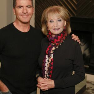 Still of Barbara Walters and Simon Cowell in The Barbara Walters Special (1976)