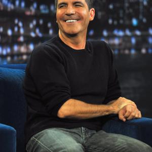 Simon Cowell at event of Late Night with Jimmy Fallon (2009)