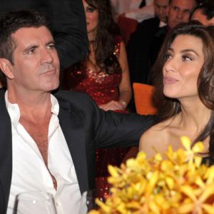 Simon Cowell and Mezhgan Hussainy at event of The 82nd Annual Academy Awards (2010)