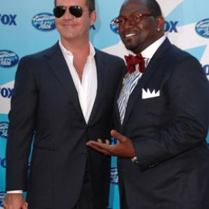 Simon Cowell and Randy Jackson at event of American Idol: The Search for a Superstar (2002)