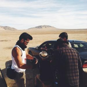 The Wild Feathers' music video shoot Gus Black (director) 2014