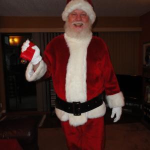 Me as Santa Claus Christmas 2010