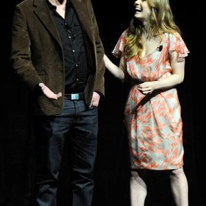 Amy Adams and Jason Segel