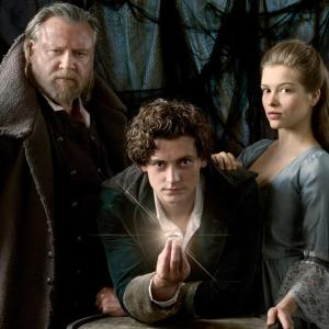 Still of Ray Winstone, Aneurin Barnard and Sophie Cookson in Moonfleet (2013)