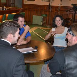 Set of Destined with Patrick Judd Bethany Aline and Reno Laquintano