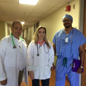 Portraying Doctors  Ridley Anderson Donna ChamnessRonrico Albright