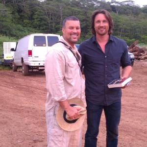 Martin Henderson and Richard Concepcion on Off the map