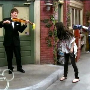 Wizards of Waverly Place  Richard Bernard with Selena Gomez
