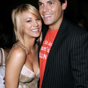 Kaley Cuoco and Jaron Lowenstein