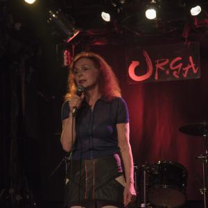 Iris Karina performs at Club URGA in Tokyo