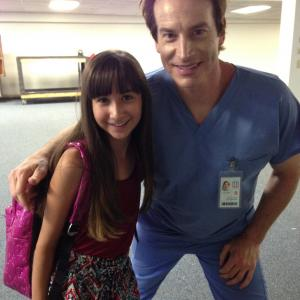 Lauren Reel with Rob Huebel