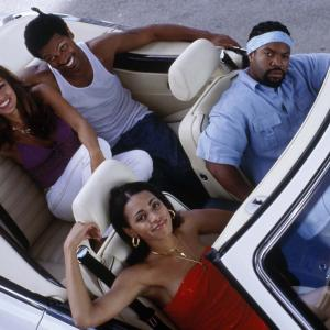 Still of Ice Cube Mike Epps Eva Mendes and Valarie Rae Miller in All About the Benjamins 2002