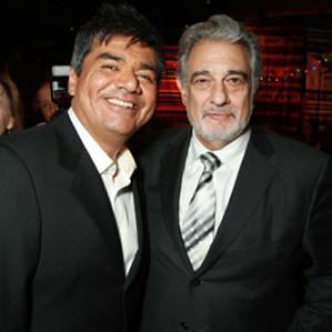 Plácido Domingo, George Lopez