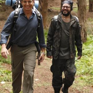 Still of Will Arnett and David Cross in Running Wilde 2010