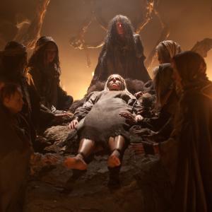 Still of Meg Foster, Judy Geeson, Sheri Moon Zombie and Patricia Quinn in Salemo valdovai (2012)