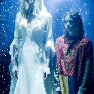 Still of Sheri Moon Zombie and Chase Wright Vanek in Halloween II (2009)