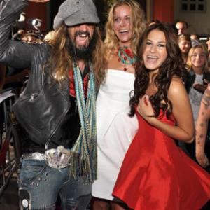Scout Taylor-Compton, Sheri Moon Zombie and Rob Zombie at event of Halloween II (2009)