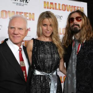 Malcolm McDowell, Sheri Moon Zombie and Rob Zombie at event of Halloween (2007)