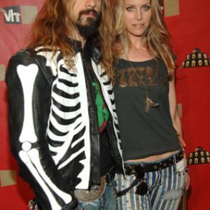 Sheri Moon Zombie and Rob Zombie