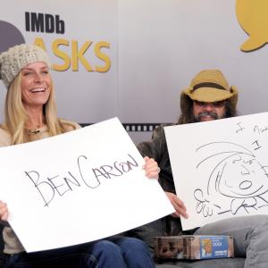 Sheri Moon Zombie and Rob Zombie at event of The IMDb Studio (2015)