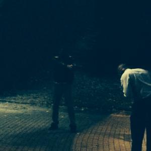 Behind the scene still of Ian Haywood in Raiding MLK 2013